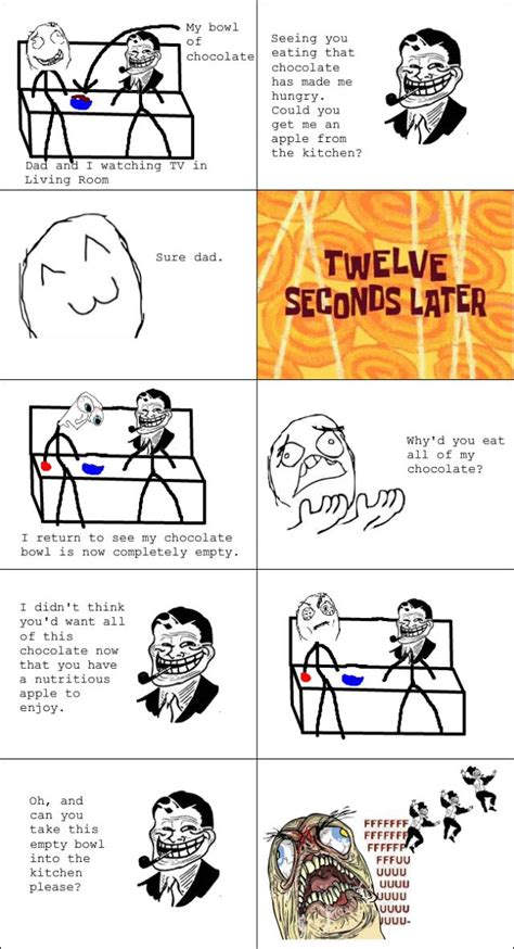 the best of troll dad rage comics others