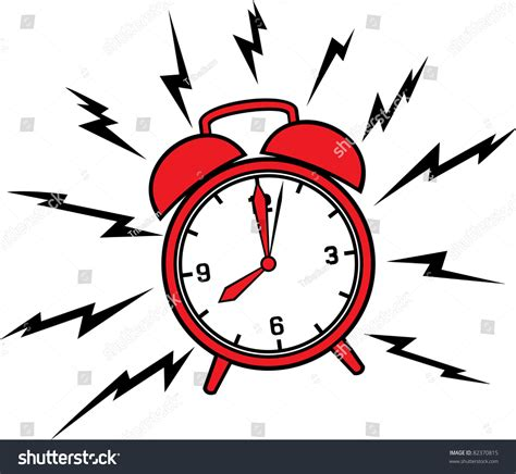 Alarm Vector classic alarm clock stock vector illustration 82370815