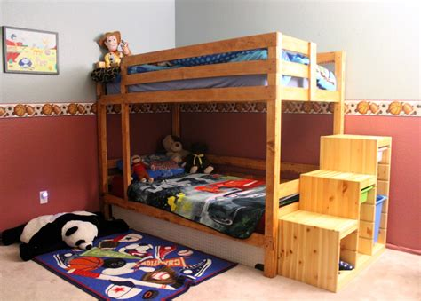 ana white boys bunk bed diy projects