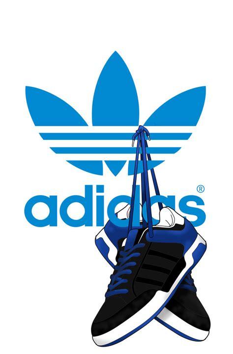 adidas trefoil wallpaper adidas originals wallpaper for mobile design print