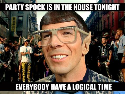 party in the house tonight party spock is in the house tonight by zink120