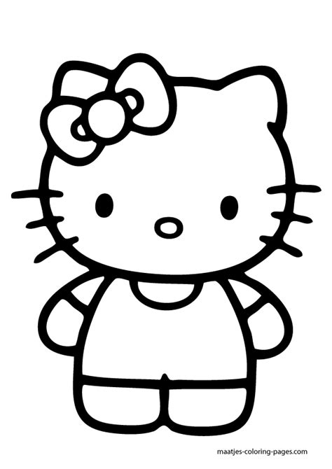 coloring page for hello kitty large hello kitty coloring pages download and print for free