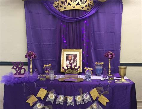Purple And Gold Birthday Decorations by Royal Birthday Quot Shay Purple Gold