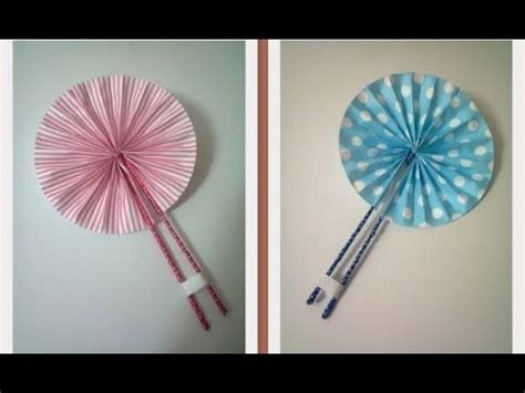 How To Make A Japanese Fan Out Of Paper - diy 8 fan