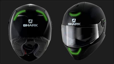 Helm Custom Promosi Ok Jek kask shark skwal led black motokanion