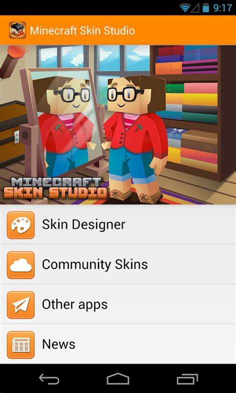 minecraft skin studio apk minecraft skin studio apps para android no play