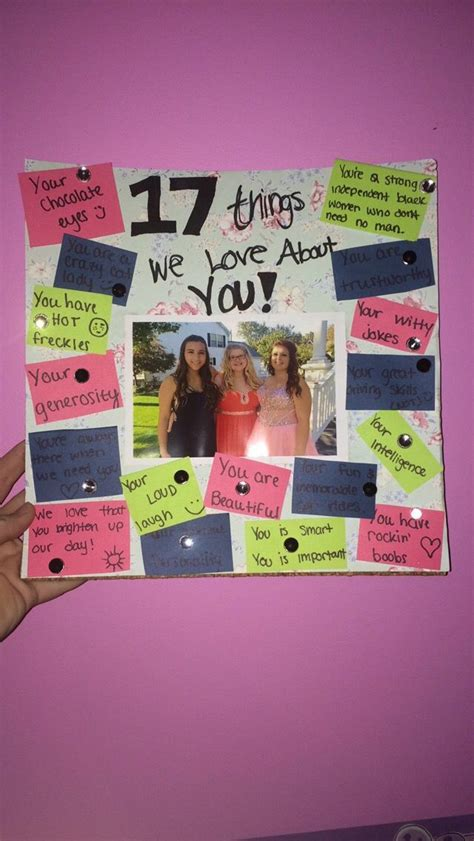 pin by zainab on my pins friend birthday gifts 17th