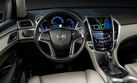 Cadillac Srx Inside Car And Driver
