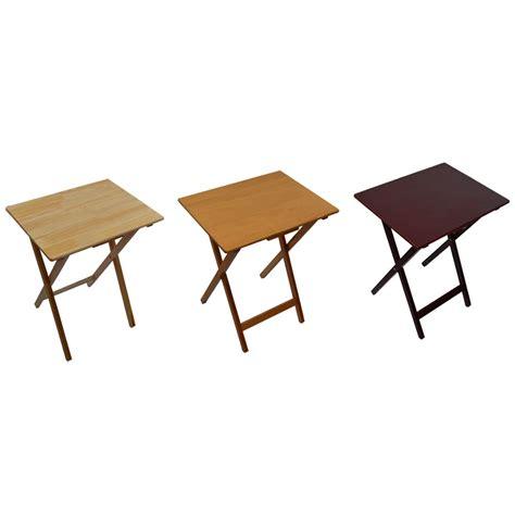 folding tv snack tables folding snack table wooden tv side laptop coffee tea