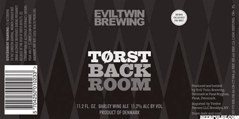 back room wines evil t 248 rst back room barley wine beerpulse
