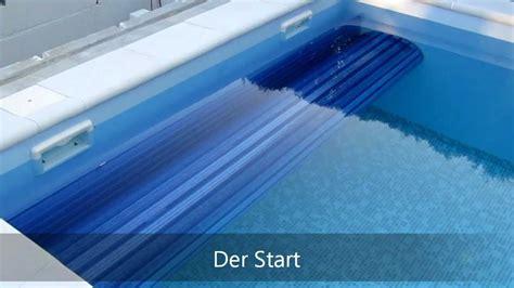 poolabdeckung unterflur schwimmbadabdeckung unterflur unterwasser rohrmotor