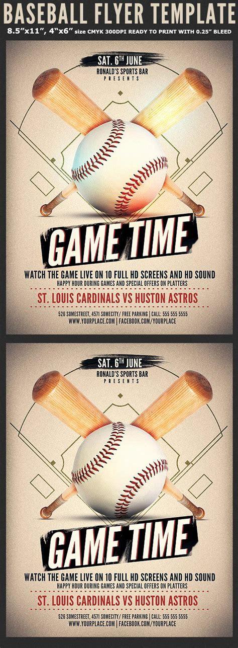softball tournament flyer template inspirational