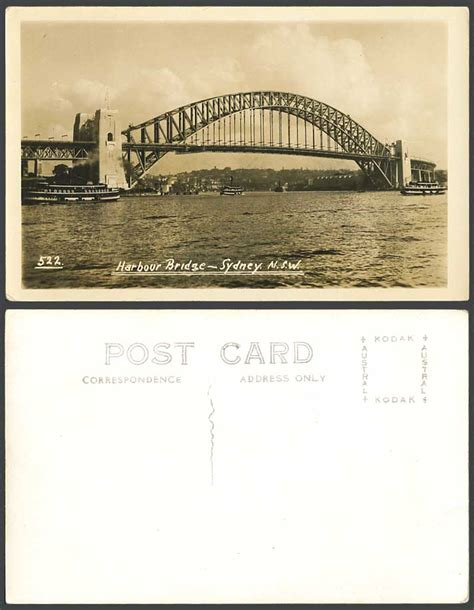 old ferry boats for sale australia australia old real photo postcard harbour bridge sydney