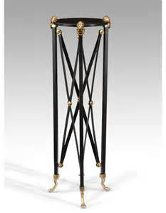 wildwood ls 40 quot brass plant stand with black marble