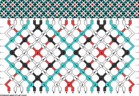 Hemp Weaving Patterns - 97 best friendship bracelet charts 4 colours images on