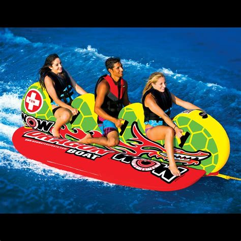 crazy boat tubes dragon boat wow world of watersports