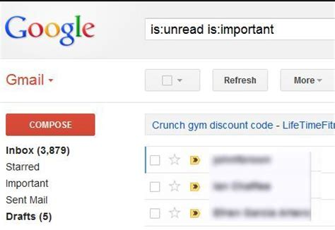 How To Search For Unread Emails In Gmail Forms When Offering A Choice Of Two Items And Selecting