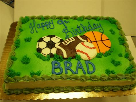 sports themed cake decorations sports birthday cakes on sport cakes soccer