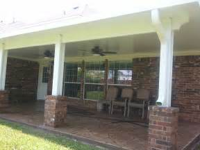 aluminum patio covers houston patio covers covered patios pergolas screen rooms