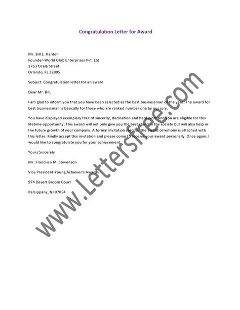 College Graduation Letter Congratulations 8 Best Images About Letter On Formal Business Letter Letter Sle And Student