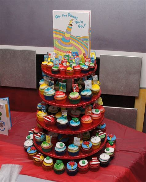 Dr Seuss Baby Shower Cupcakes by Dr Seuss Books Themed Cupcakes Cake In Cup Ny