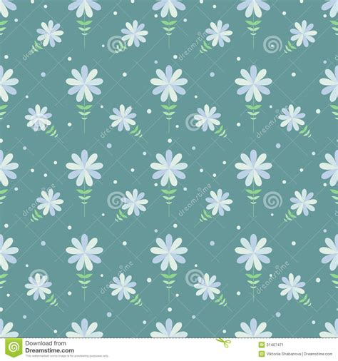 Decorated Paper Designs seamless floral pattern with geometric stylized flowers stock image image 31407471