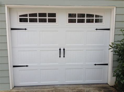 Garage Doors Kits Garage Door Decorative Hardware Kit Hinges Handles Kit W Screws Ebay