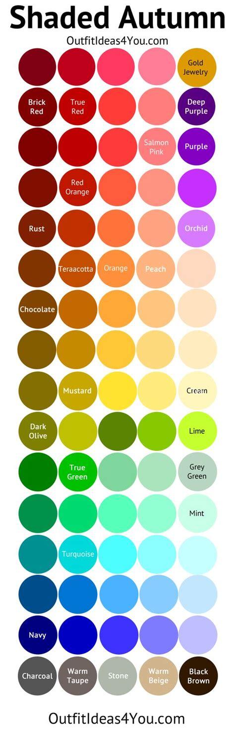 deep autumn color palette autumn autumn color palette and color palettes on pinterest