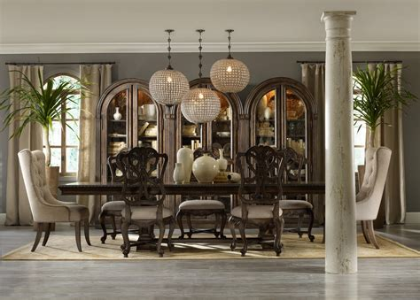 hooker dining room formal dining room group by hooker furniture wolf and