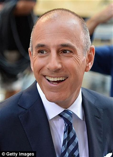 how long is matt lauers hair morning man classic matt lauer