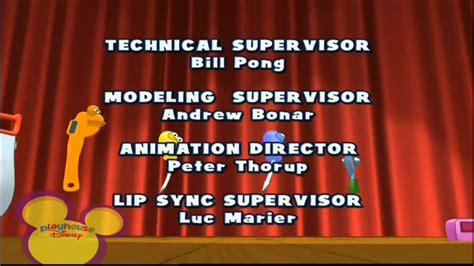 playhouse disney scandinavia handy manny end credits