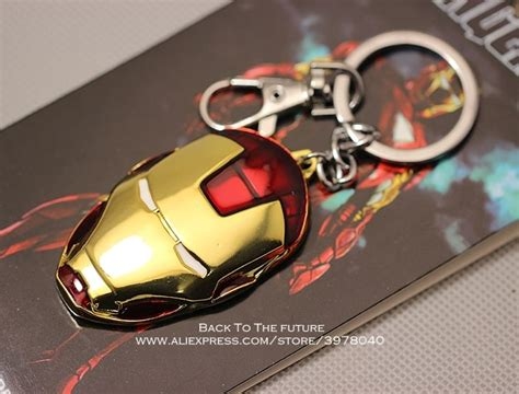 disney avengers iron man gloves cm key ring metal