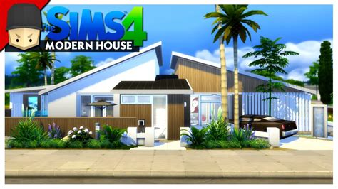 the modern house modern house the sims 4 house building youtube