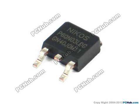 transistor laptop uph transistor mos desktop computer 78978 p60n03ldg 06n03