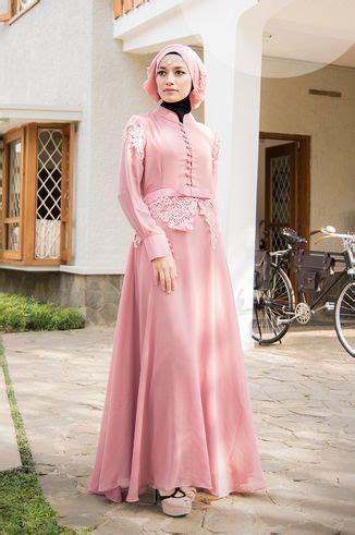 Baju Muslim Wanita Maxi Dewi Pink 779 best images about muslima style on hashtag