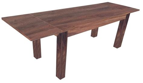 Houzz Dining Tables Shop Houzz Artefac Solid Wood Extendable Dining Table Dining Tables