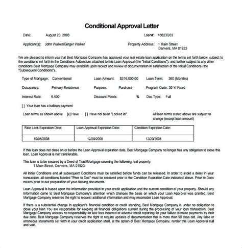 Mortgage Silent Letter commitment letter commitment letter approval letters and