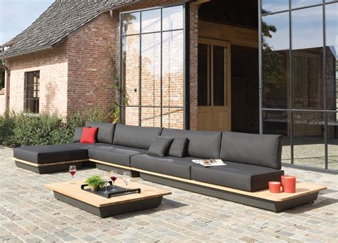 manutti air large garden corner sofa contemporary garden