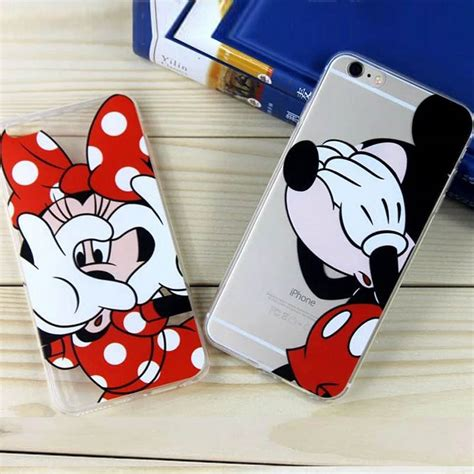 phone cases for iphone 7 6s 6 plus 6s plus mickey minnie mouse donald duck soft
