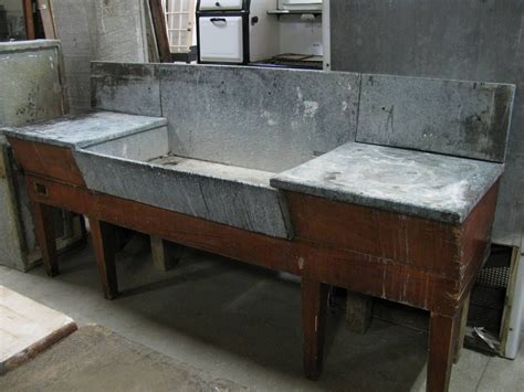 antique soapstone slate sinks love  continuous