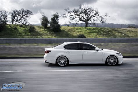 lexus rims car lexus gs 350 on vossen cv7 wheels california wheels
