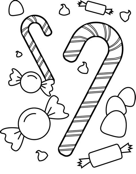 free coloring pages of chocolate candy