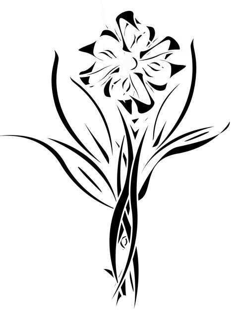 flower tribal by mordridfantastic on deviantart