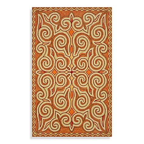Transocean Rugs Indoor Outdoor Trans Kazakh Indoor Outdoor Rug In Bed Bath Beyond