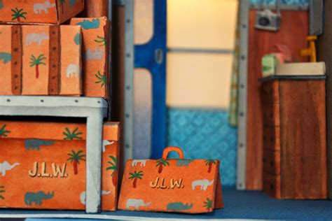 designboom wes anderson mar cerd 224 makes miniature paper movie sets of wes anderson