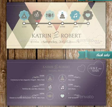 21 elegant psd wedding invitation templates print