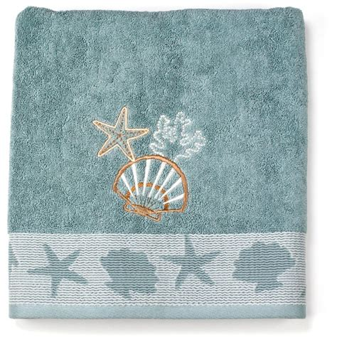 coastal bathroom rugs coastal style beach decor from walmart fox hollow cottage