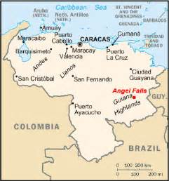 falls south america map highest waterfall in the world tallest in the united states