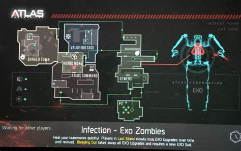 exo zombies infection advanced warfare exo zombies infection map revealed