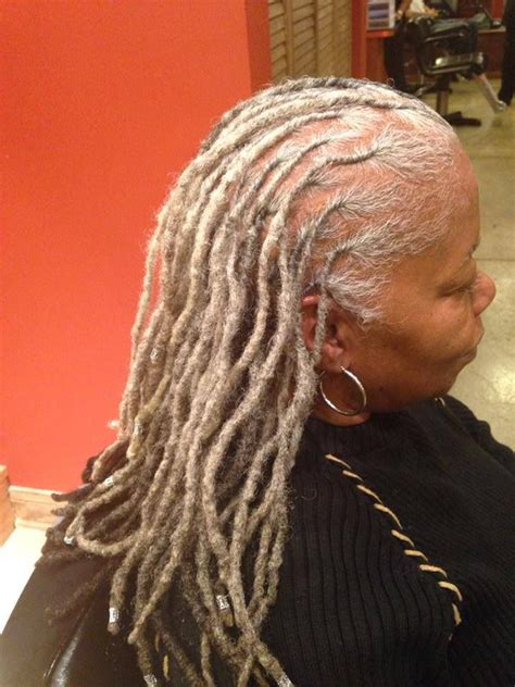 dreadlocks with gray hair 17 best images about ala loc on pinterest lock style